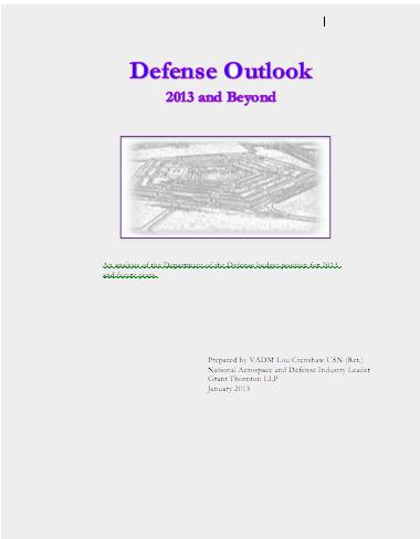DoD Budget 2013
